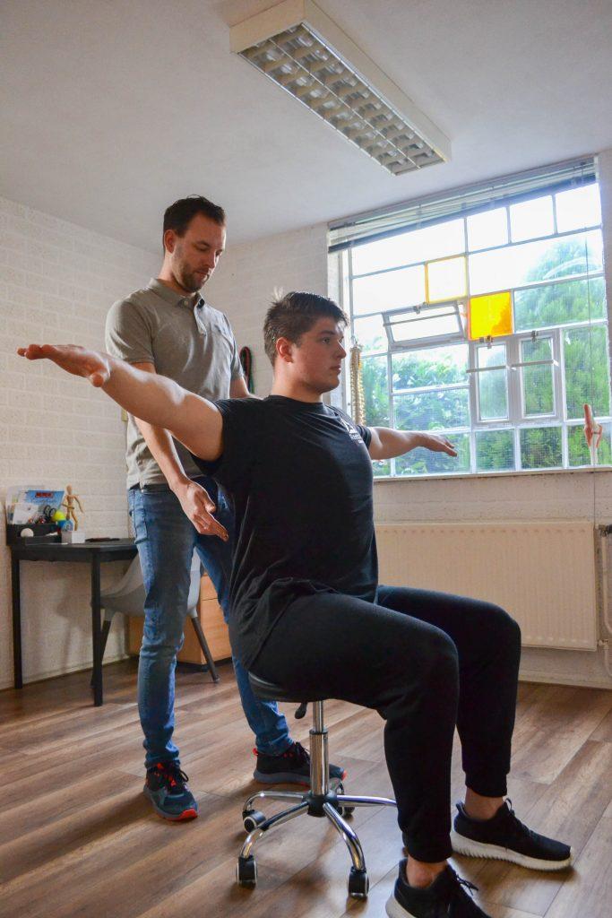 Revalidatie en training bij ProMovement oefentherapie Amsterdam Zuid