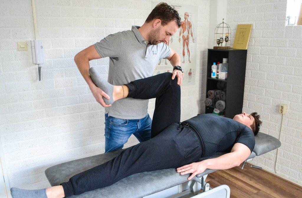 Sportmassage en behandeling bij ProMovement oefentherapie Mensendieck
